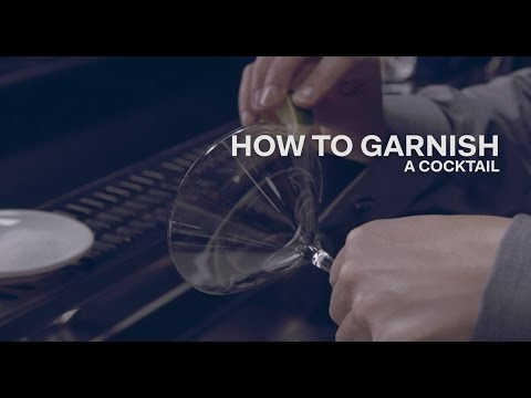 How to Garnish a Cocktail - Bols Bartending Academy