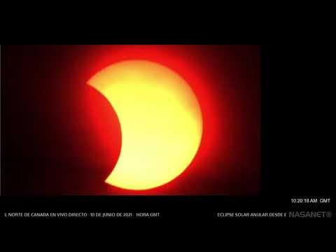 Eclipse Anular de Sol 10 de Junio 2021