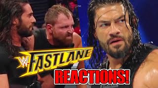 DIDNT SEE THAT COMING! WWE Fastlane 2019 Results Reactions and Review (3/10/19)