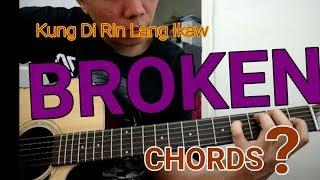 Kung'Di Rin Lang Ikaw Chords Guitar Tutorial - December Avenue