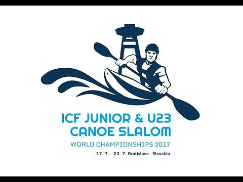 #ICFSlalom 2017 Junior & U23 Canoe World Championships, Bratislava, Tuesday afternoon -Evens