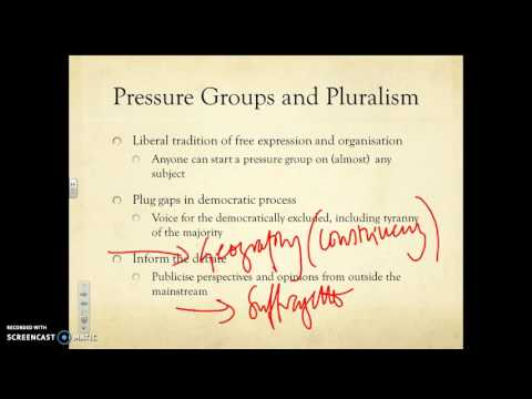 Pressure Groups and Political Capital