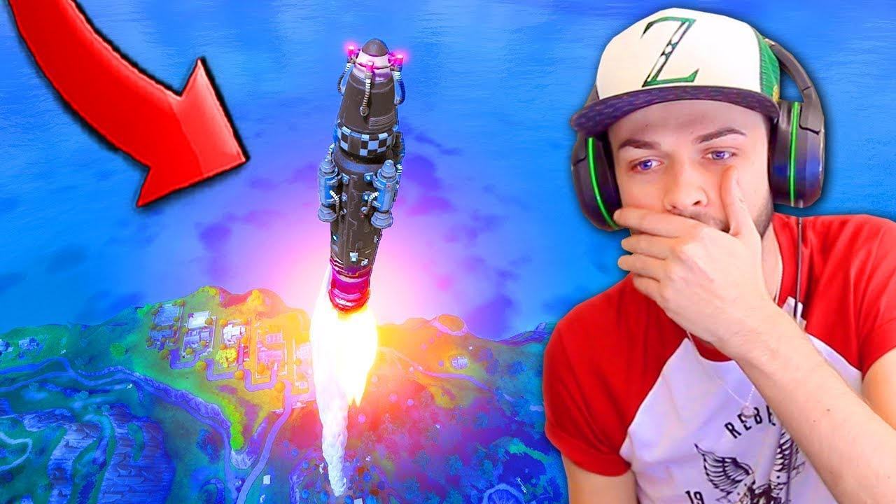 ROCKET LAUNCH *GAMEPLAY* in Fortnite: Battle Royale! (INSANE)