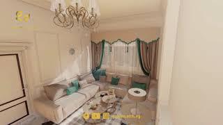 Exterior and interior design for villa