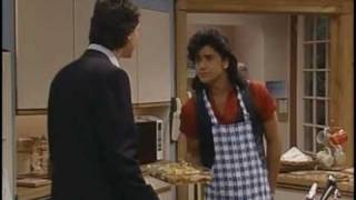 Full House Funny Clip - Danny Comes Home Late