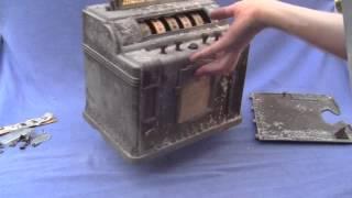 Rockola Hold and Draw Slot machine and gum vendor