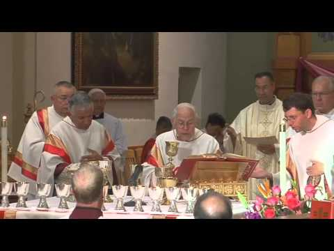 Mass of Thanksgiving at Cathedral-Basilica of St. Francis for Monsignor Jerome Martinez y Alire