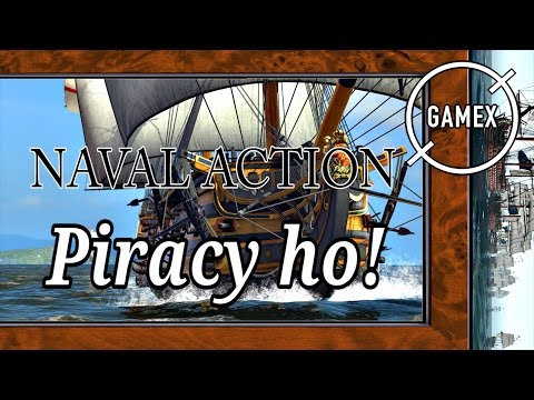 The Beginners Guide to Failing at Piracy | Naval Action Gameplay - GameX.io