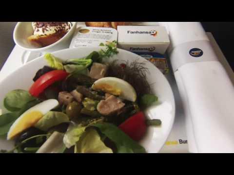 Lufthansa Business Class Frankfurt - Aberdeen  ✈ Airbus A319 ✈ Flight Report