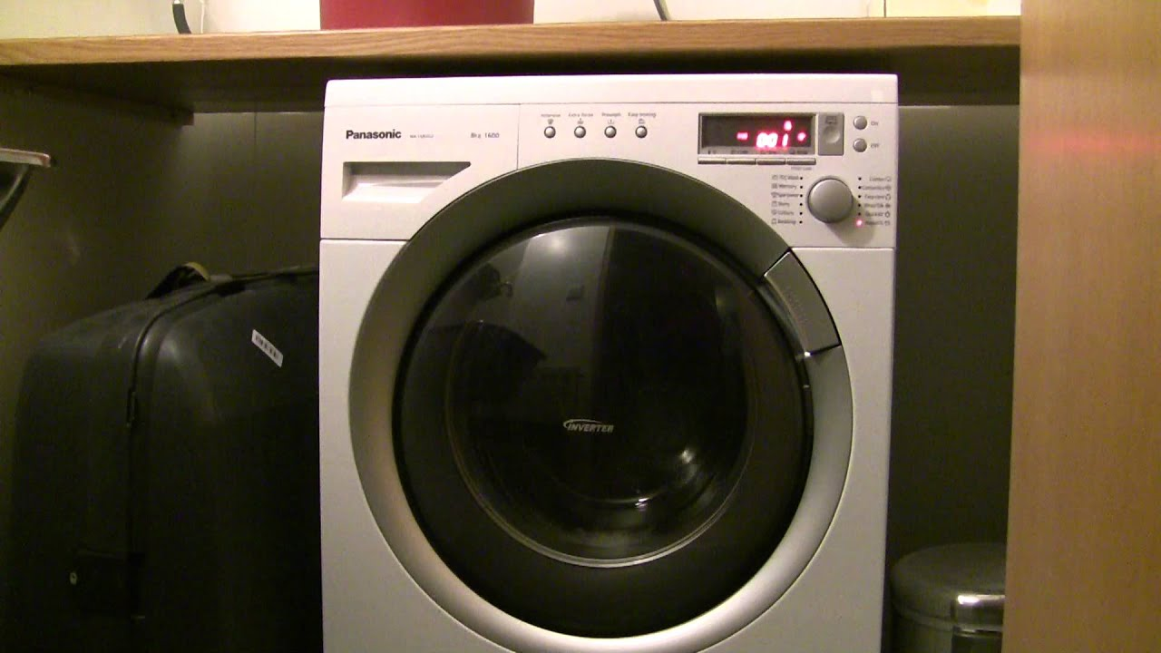 Fail Panasonic Na 168vg2 Washing Machine Spinning