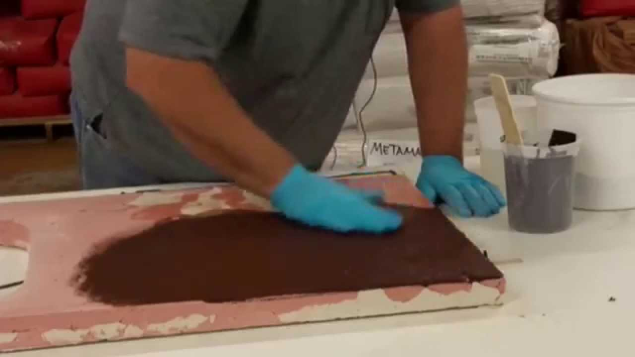 How To Make A Concrete Countertop Slurry Youtube