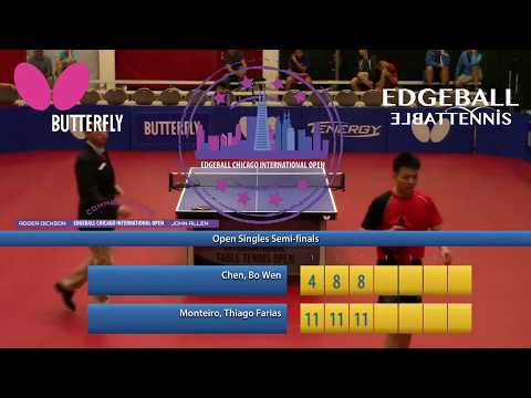 2017 Edgeball Chicago International Open - Open Singles Semi-Finals #1