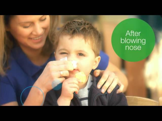Tork Childcare Hand Hygiene Educators Video