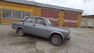 ЛАДА-210740 Семерочка, пример как не надо содержать авто, урок дрифта).