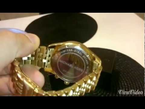 michael kors gold watch lexington review 2014 youtube. Black Bedroom Furniture Sets. Home Design Ideas