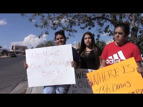 Kathie Davis Rio Grande Preparatory Institute - Student Protest