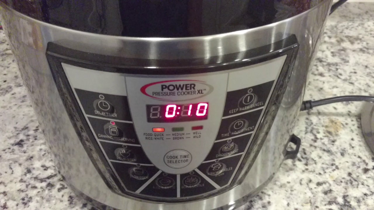Power Pressure Cooker Xl : Loose Or Spinning Valve? How To Know Its Working  & Getting Started