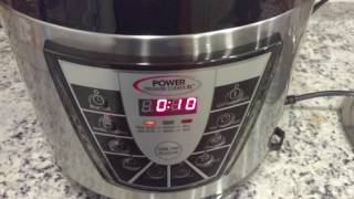 Power Pressure Cooker XL : Loose or Spinning Valve and Startup