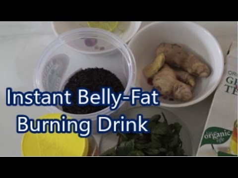 Instant Belly-Fat Burner – Get Flat Belly in 5 Days Without Diet or Exercise