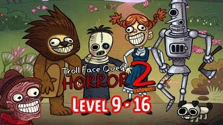 Troll Face Quest Horror 2: Halloween Special Level #9 to #16 Gameplay Walkthrough