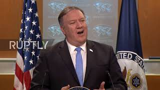 USA: Pompeo doubles down on claims of Iranian assassination ops in Europe