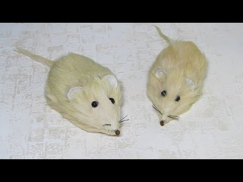 Интерьерные мышки своими руками
