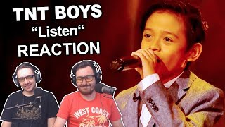 """TNT Boys - Listen"" Reaction"