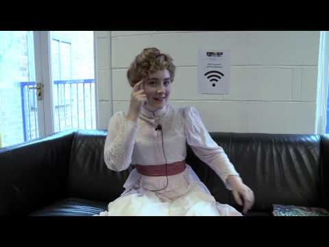 Loving Vincent Behind the Scenes -  Saoirse Ronan as Marguerite Gachet