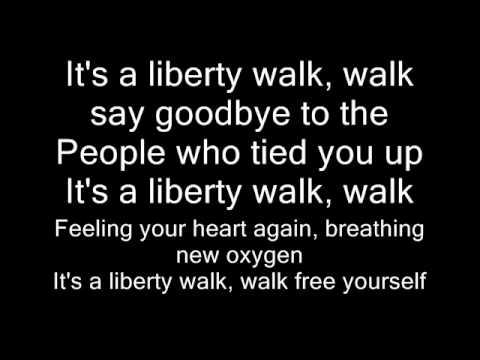 Miley Cyrus - Liberty Walk (Lyrics Video)