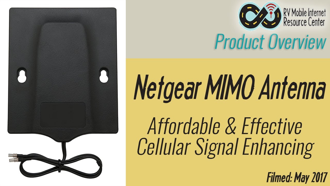 Netgear MIMO Antenna for JetPacks & MiFis - Affordable Cellular Signal  Enhancing
