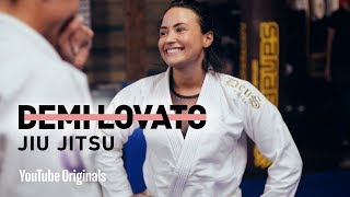 Demi Lovato Does Jiu Jitsu