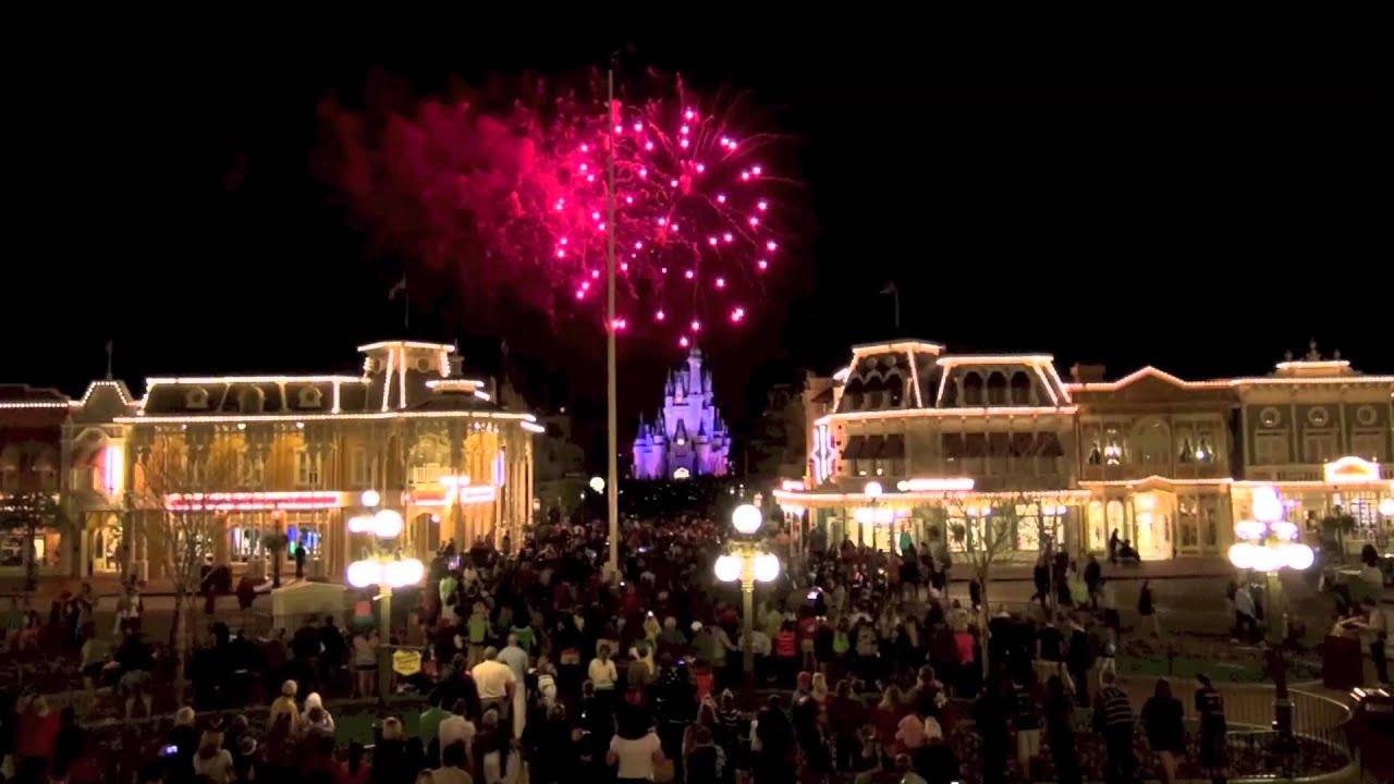 Walt Disney World Wishes Fireworks Time Lapse 2013 Magic Kingdom 2013 YouTube