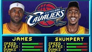 LeBron James & Iman Shumpert Have Impromptu Dunk Contest