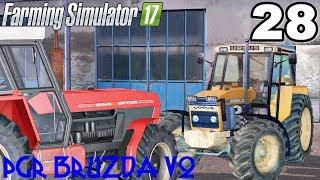 """Kupiłem nowe ciągniki. ☆ FS17 ☆ """"PGR BRUZDA V2"""" #28 ㋡ Anton"""