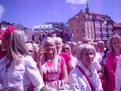 Go Blonde Parade in Riga, Latvia 2010
