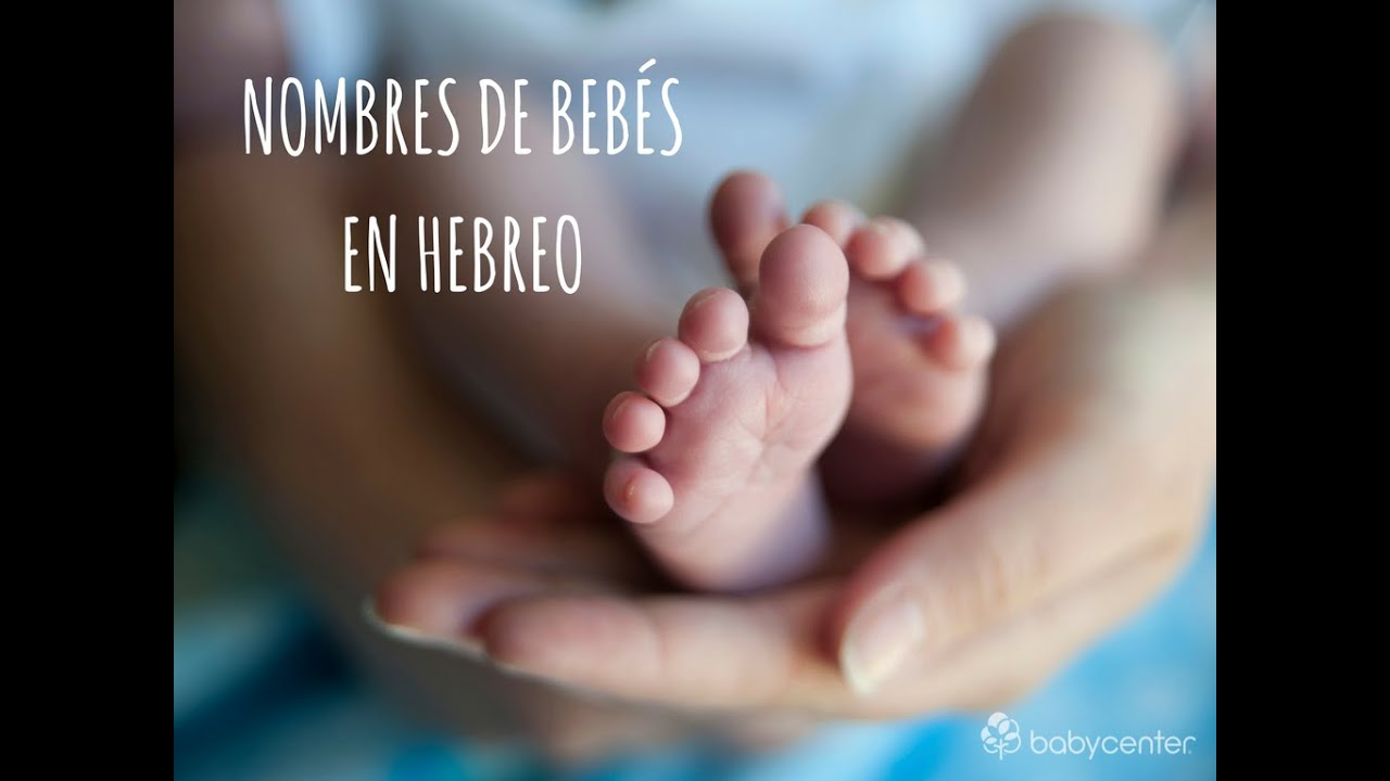 20 Nombres de origen hebreo escritos en hebreo  YouTube