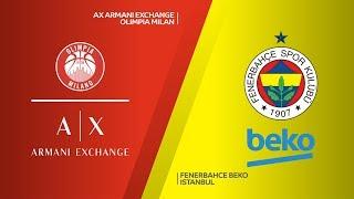 Ax armani exchange olimpia milan - fenerbahce beko istanbul highlights | euroleague rs round 29