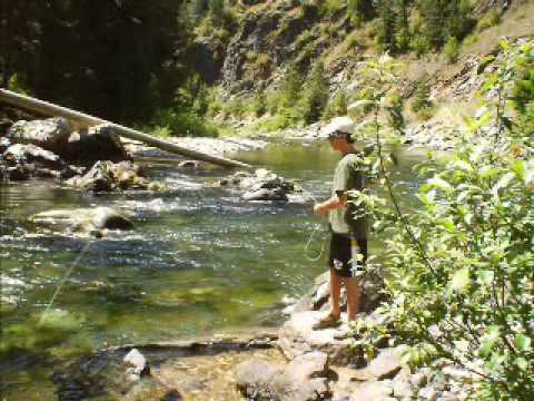 St joe 39 s river idaho youtube for Idaho out of state fishing license