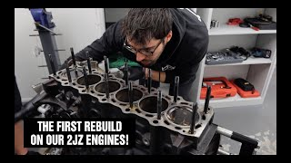 FIRST Full rebuild of our 2JZ Engines! | VLOG001 | Team Jenkins Motorsport