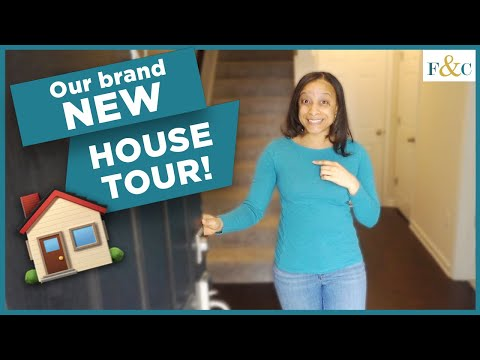 Our New House Tour 2021! | First Time Homebuyers | Frolic & Courage