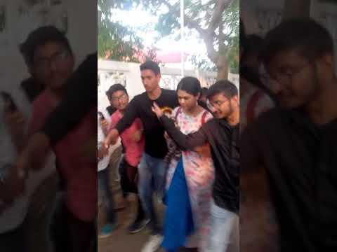 Ramya Behra In Swarandhra College | Seetharampuram
