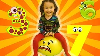 Kids Learn Colors and Numbers at the Indoor Playground | Educational Videos for Toddlers