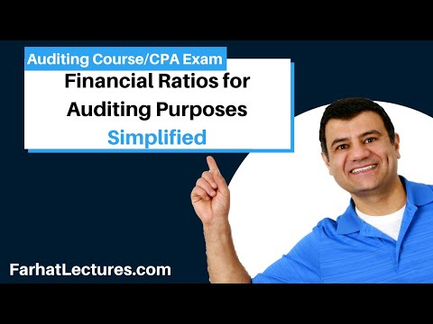 Financial Ratios For Auditing Purposes | Auditing And Attestation | CPA Exam