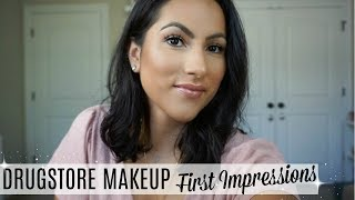 GET READY WITH ME // NEW MAKEUP FIRST IMPRESSIONS //  MY GO-TO LOOK