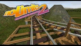 NoLimits 2 - Rumble Ridge Railroad (Vekoma Minetrain w/ Switch Tracks)