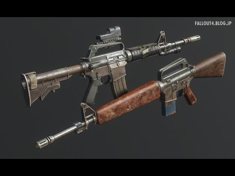 fallout4 blog jp MOD Review - Fallout 4 Weapon Animation Replacers