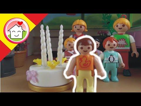 Playmobil en español El cumpleaños de Anna / La Familia Hauser
