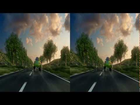 Green Beetle Volkswagen Service -3D