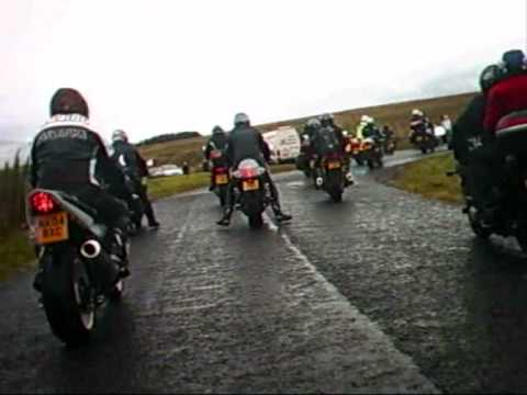 steve hislop memorial run 2009,  knockhill, hawick, denholm (music by scocha)