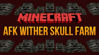 Minecraft 1.8: AFK Wither Skull Farm